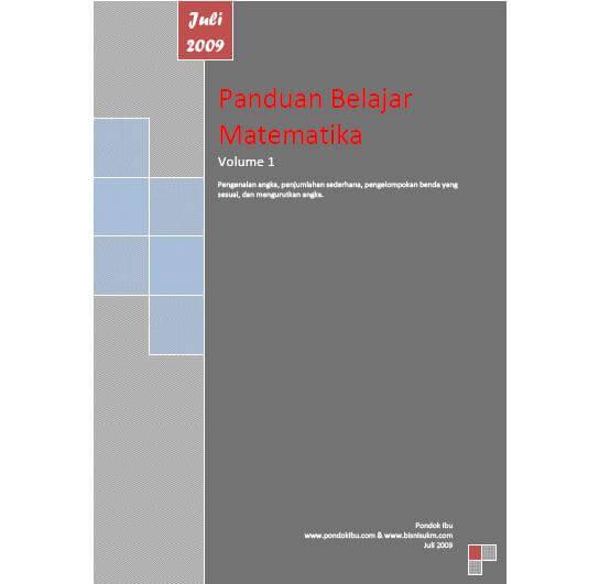Dapatkan Ebook Belajar Matematika Volume 1