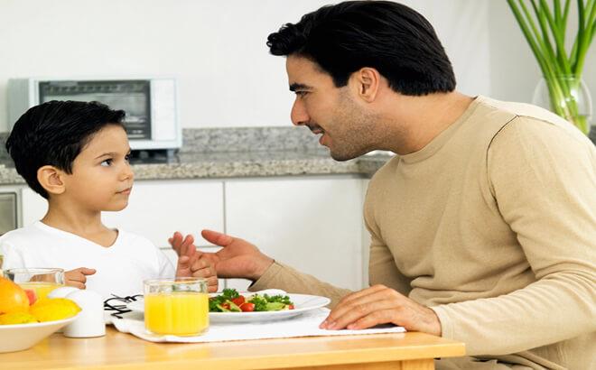 Menasehati anak dengan kata-kata tepat