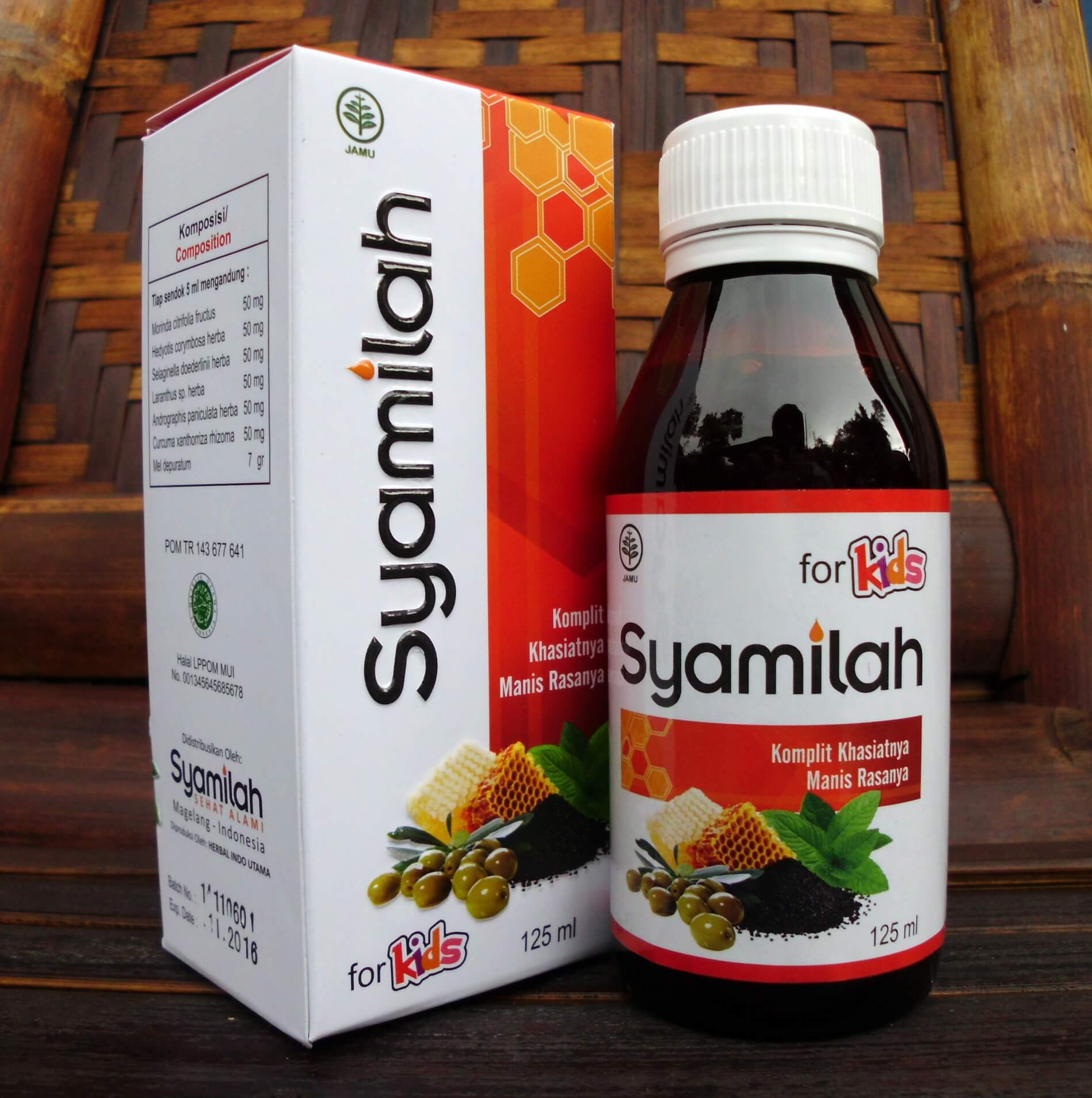 Madu Herbal Syamilah For Kids