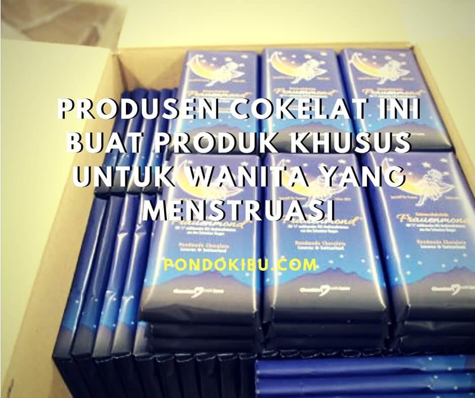 Produsen Cokelat Ini Buat Produk Khusus Untuk Wanita yang Menstruasi