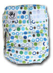 Cloth Diapers Metal Mom Motif Plus 1 Insert Microfiber Plus 1 Insert Bamboo