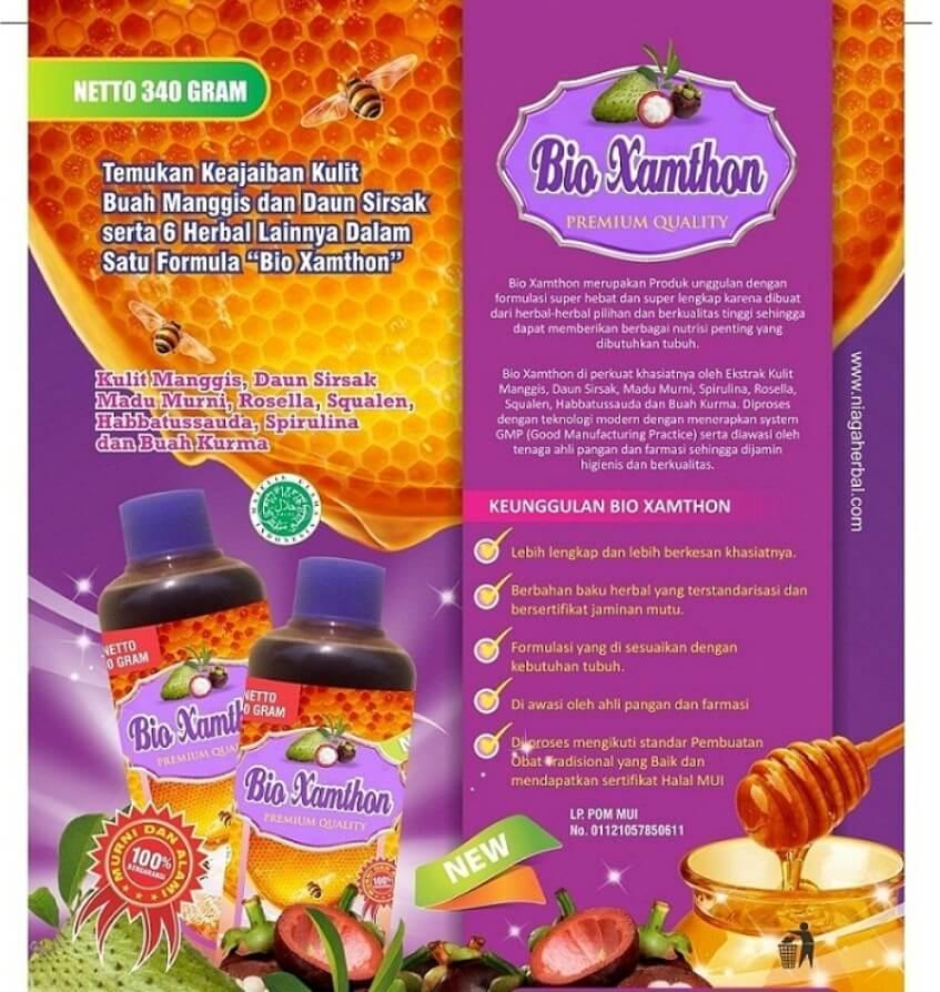 Bio Xamthon Premium Quality, Solusi untuk Sehat Secara Alami