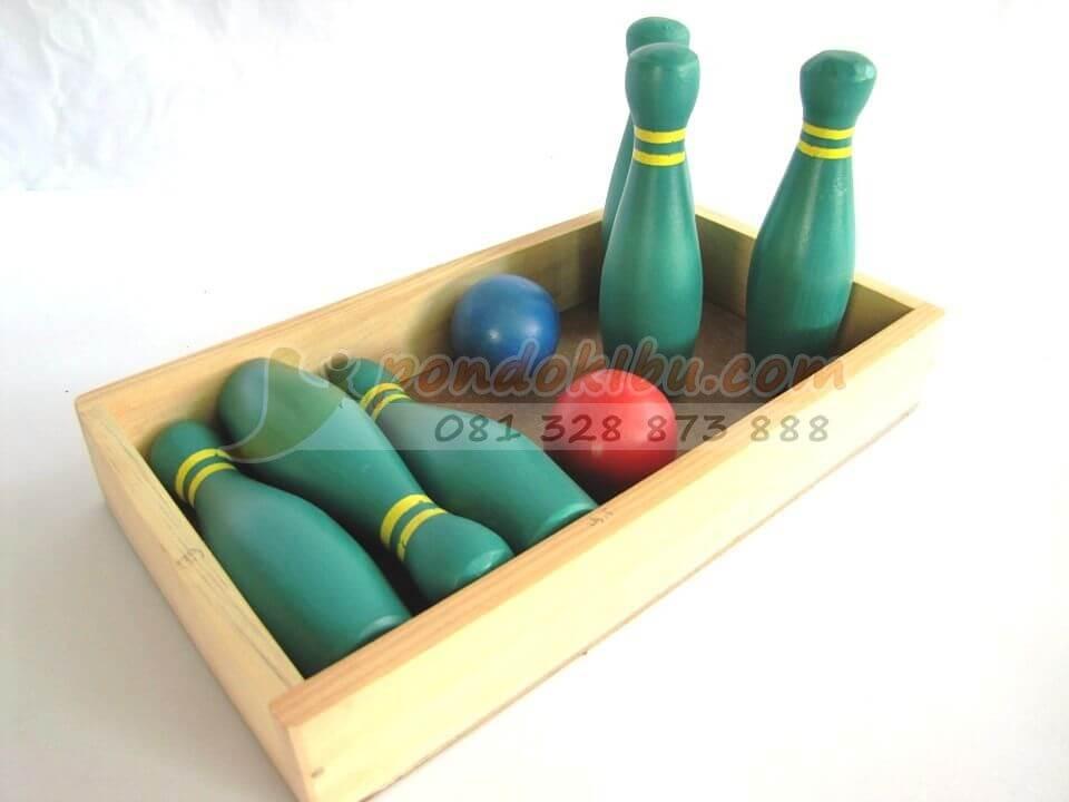 Mini Bowling Menarik Untuk Mainan Anak