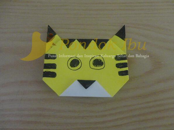 origami harimau