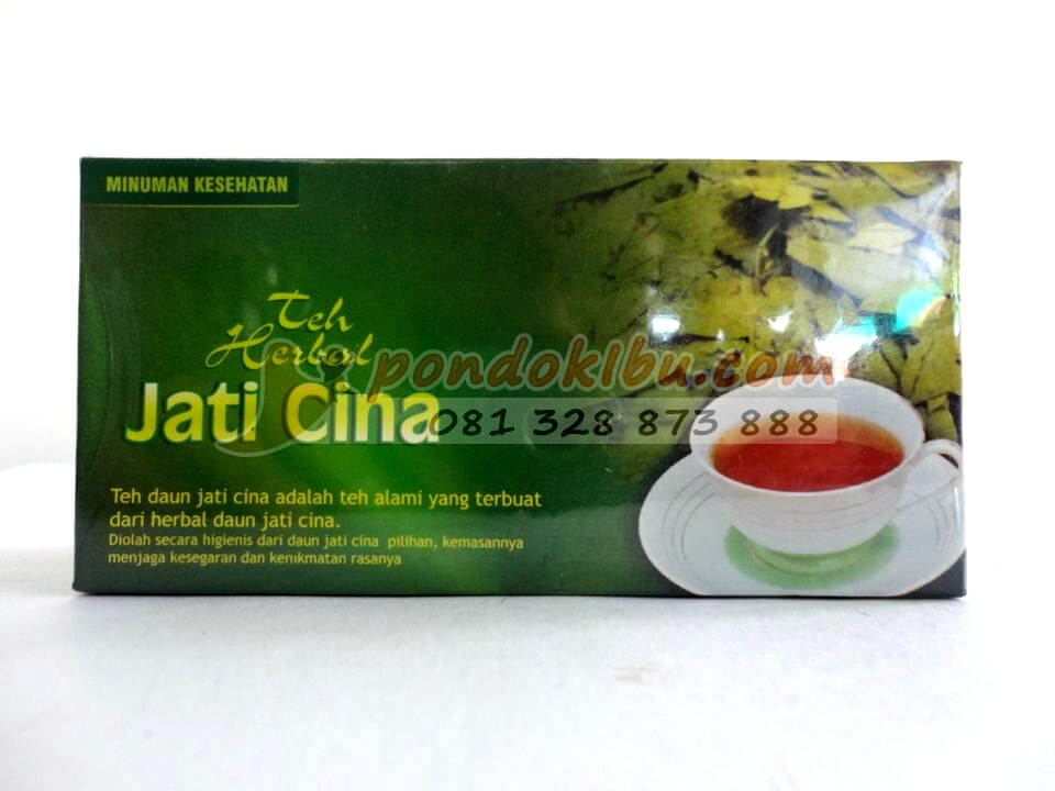 Teh Daun Jati Cina, 100% herbal