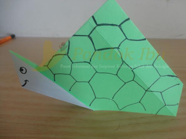 origami kura-kura