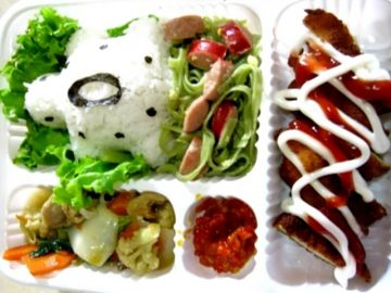 meal box ala Cathlea Kid Catering Service