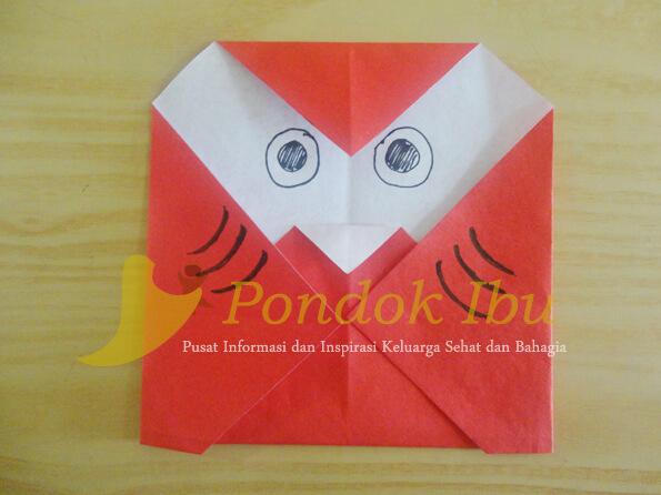 origami burung hantu