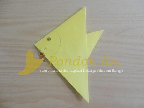 origami ikan bawal