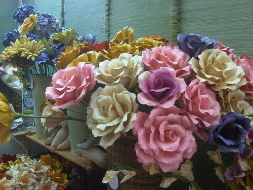 bunga dari kulit jagung