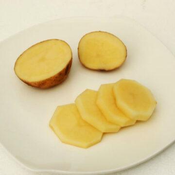 kentang untuk wajah