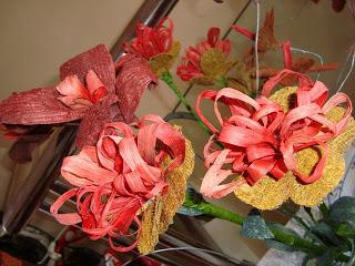 bunga daun pelepah pisang