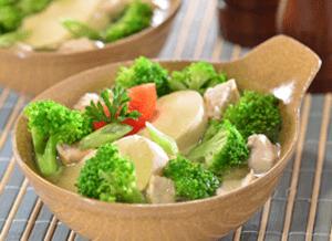 sup ikan tuna brokoli
