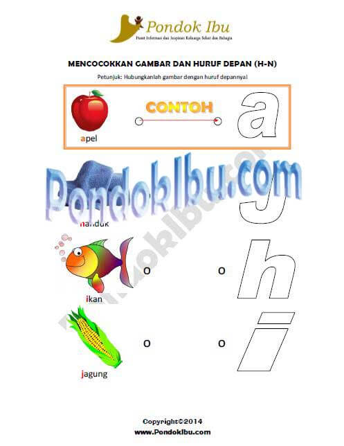 Alfabet H-N