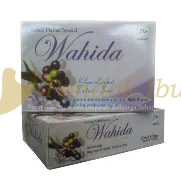 sabun alami wahida zaitun