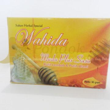 sabun herbal wahida madu + susu