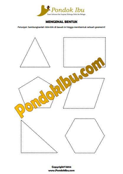 Media Pembelajaran Menggambar Bentuk Geometri