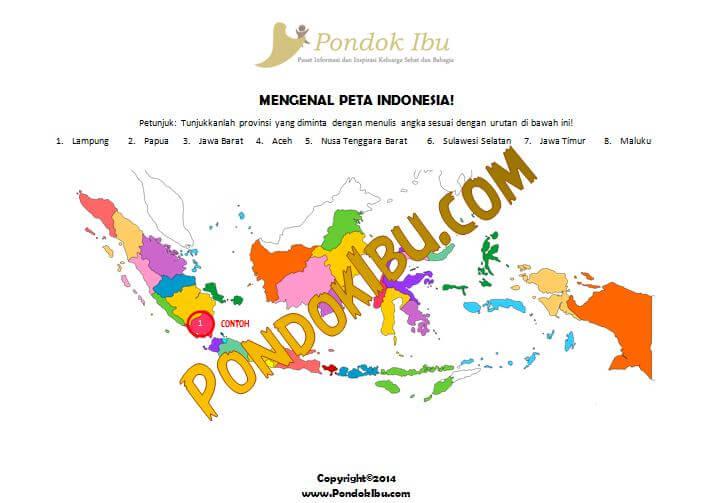 BELAJAR MENGENAL PETA INDONESIA