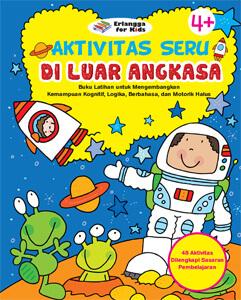 Buku Aktivitas Anak Bertema Luar Angkasa