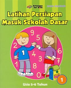 Buku Latihan Persiapan Masuk SD (Jilid 1)