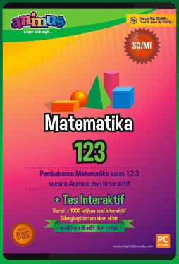 CD Pembelajaran Matematika Kelas 1-3 SD