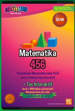 CD Pembelajaran Matematika Kelas 4-6 SD