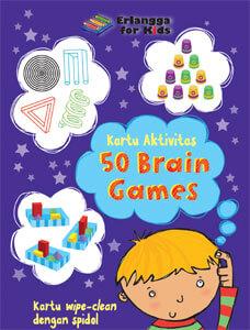 Kartu Aktivitas Anak: 50 Permainan Asah Otak