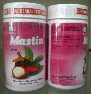 mastin ekstrak kulit manggis