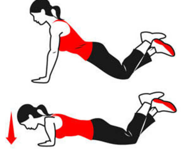 gerakan olahraga untuk memperbesar payudara