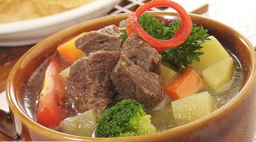 sup daging
