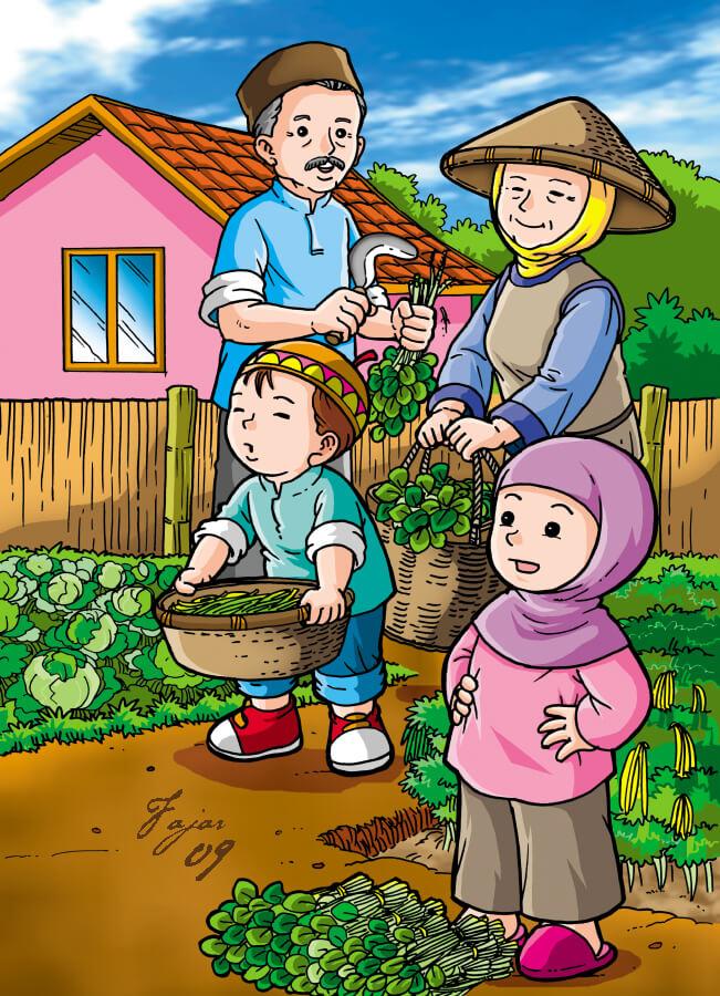 Berkebun Membantu Melatih Tanggung Jawab Anak