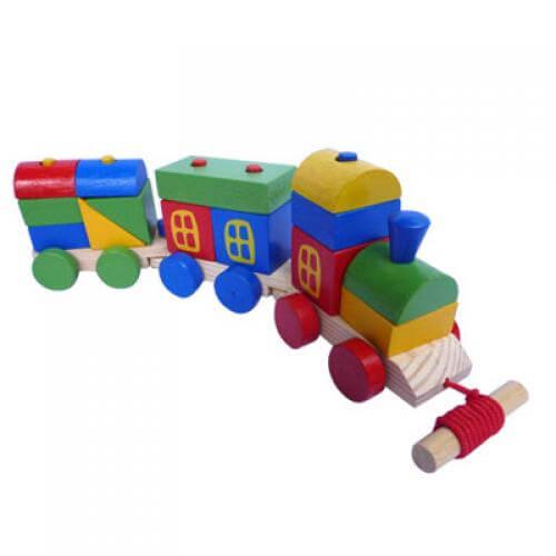 Mainan Kereta Api Melatih Kerja Sama Anak