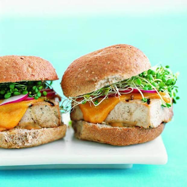 cara membuat burger tofu