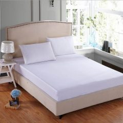 sprei waterproof putih