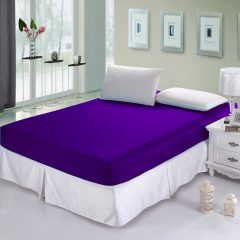 sprei waterproof ungu