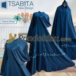 Gamis Syar'i Tsabita New Design Hijau Army