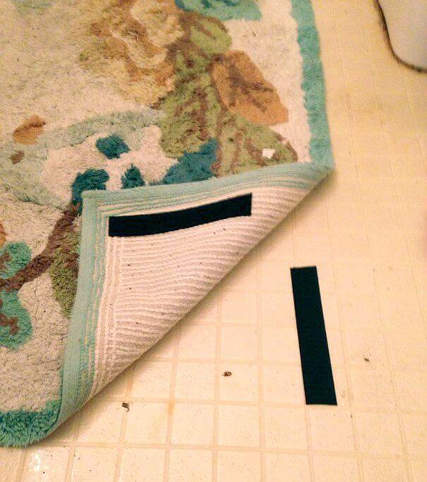 Tips aman agar anak tidak tersandung karpet