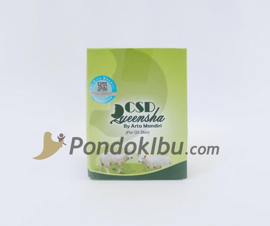 Cream Susu Domba Oil Bebas Jerawat Bebas Flek Hitam