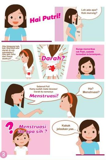 Mengenalkan Menstruasi Kepada Anak Sejak Dini